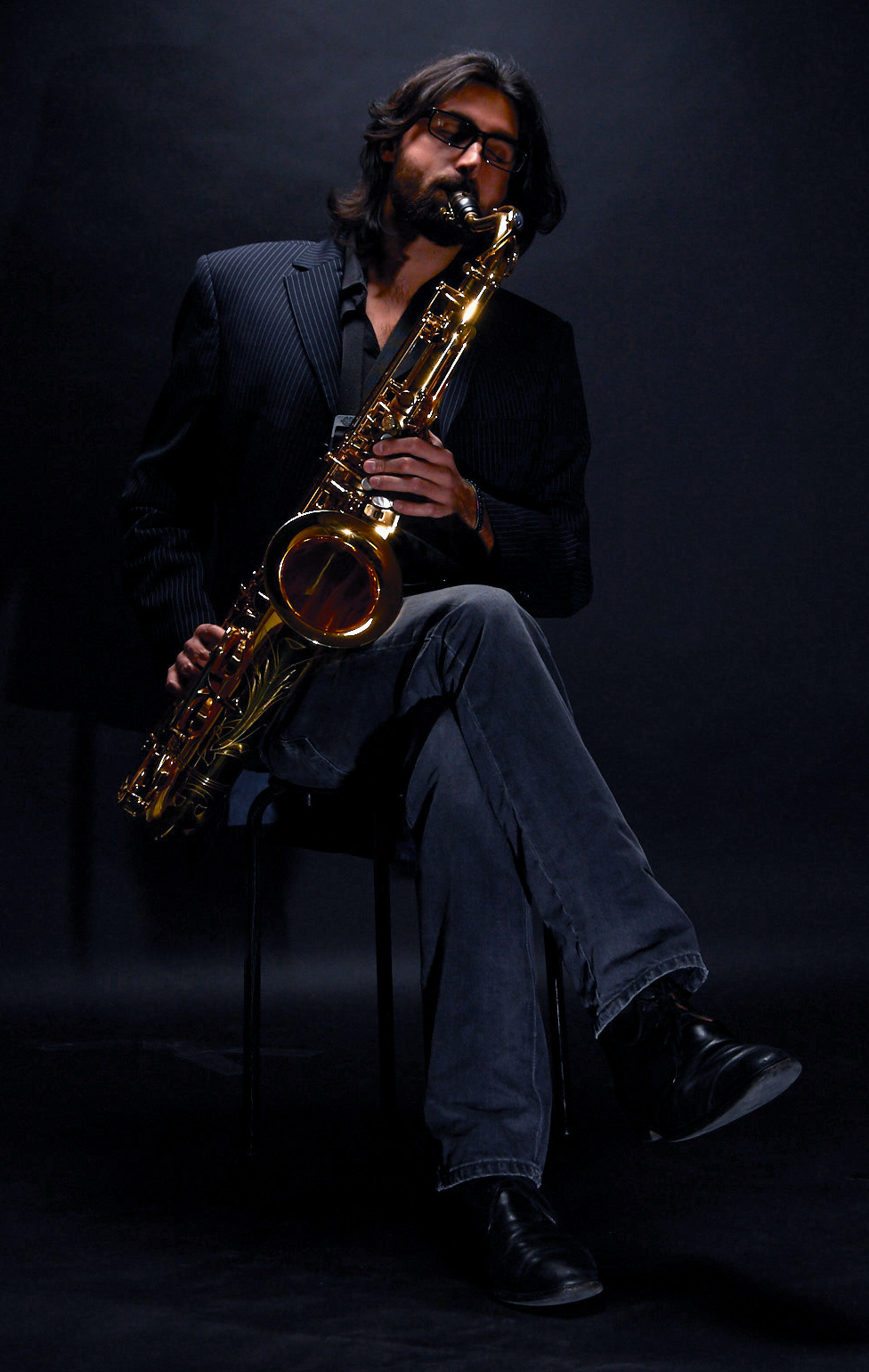 Saxophonist Berlin - Milo Lombardi by David Vendryes